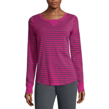 jcpenney.com | Made For Life Long Sleeve Scoop Neck T-Shirt-Talls