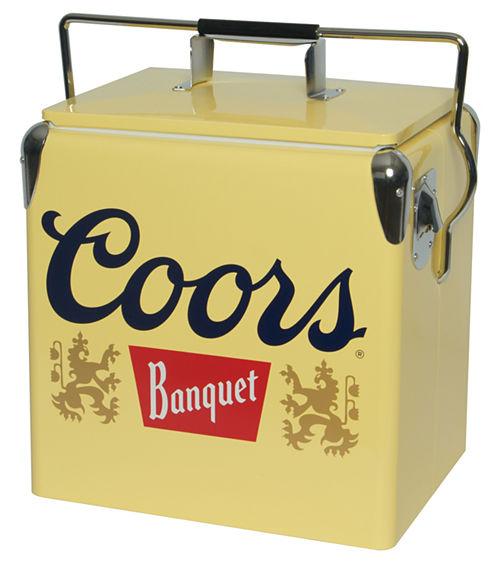 Coors Light Banquet Ice Chest 13 Retro Vintage