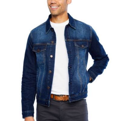 32515d25b01 Collection by Michael Strahan Lightweight Denim Jacket - JCPenney