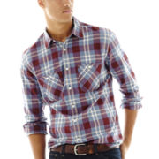 Arizona Button-Front Poplin Shirt