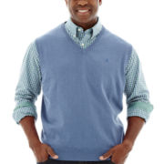 IZOD® Essential Sweater Vest–Big & Tall