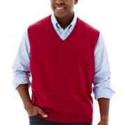 IZOD® Essential Sweater Vest–Big & Tall