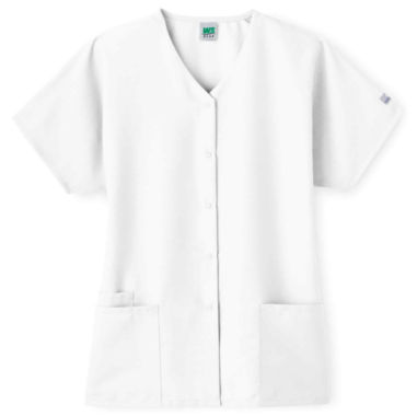 jcpenney.com | Fundamentals Women's Snap-Front Scrub Top
