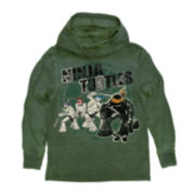 Teenage Mutant Ninja Turtles Pull-Over Fleece Hoodie – Boys 8-20