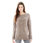 Joe Fresh™ Marled Tunic Sweater