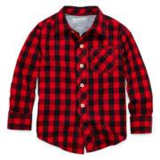 Arizona Long-Sleeve Button-Front Shirt – Boys 2t-6