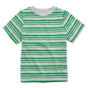Okie Dokie® Short-Sleeve Striped Tee – Boys 2t-6