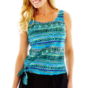 Azul by Maxine of Hollywood Jogger Tankini Swim Top