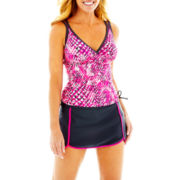 Free Country® Print Tankini Swim Top or Skort