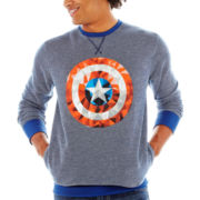 Captain America™ Shield Fleece Sweatshirt