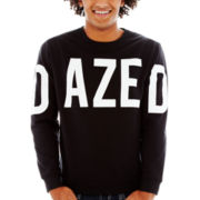 D Is For Dazed Graphic Fleece Sweatshirt