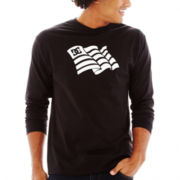 DC® T-Star Flag Day Long-Sleeve Tee