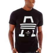 adidas® 3 Stripe Adi Tee