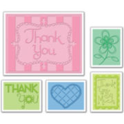 Sizzix® Textured Impressions Embossing Folders – Thank You #3