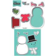 Sizzix® Framelits Die and Stamp Kit - Snowman #2