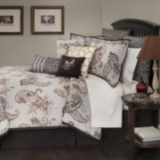 Marquis by Waterford® Jalise Paisley 4-pc. Comforter Set & Accessories