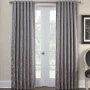 Marquis by Waterford® Samantha Platinum Curtain Panel Pair