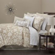 Marquis by Waterford® Tara Floral Vines 4-pc. Jacquard Comforter Set