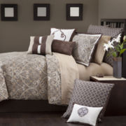 Marquis by Waterford® Avonleigh Scroll 4-pc. Jacquard Comforter Set