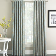 Marquis by Waterford® Hadley Blue Curtain Panel Pair