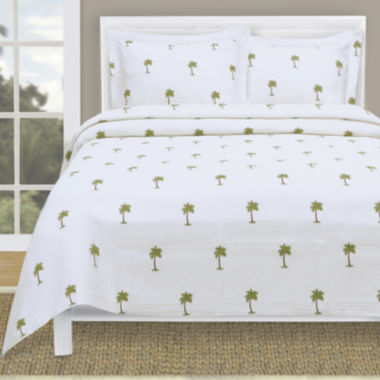 jcpenney.com | Lamont Home® The Palm Tropical Coverlet