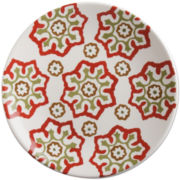 Masala Floral Set of 4 Luncheon Plates