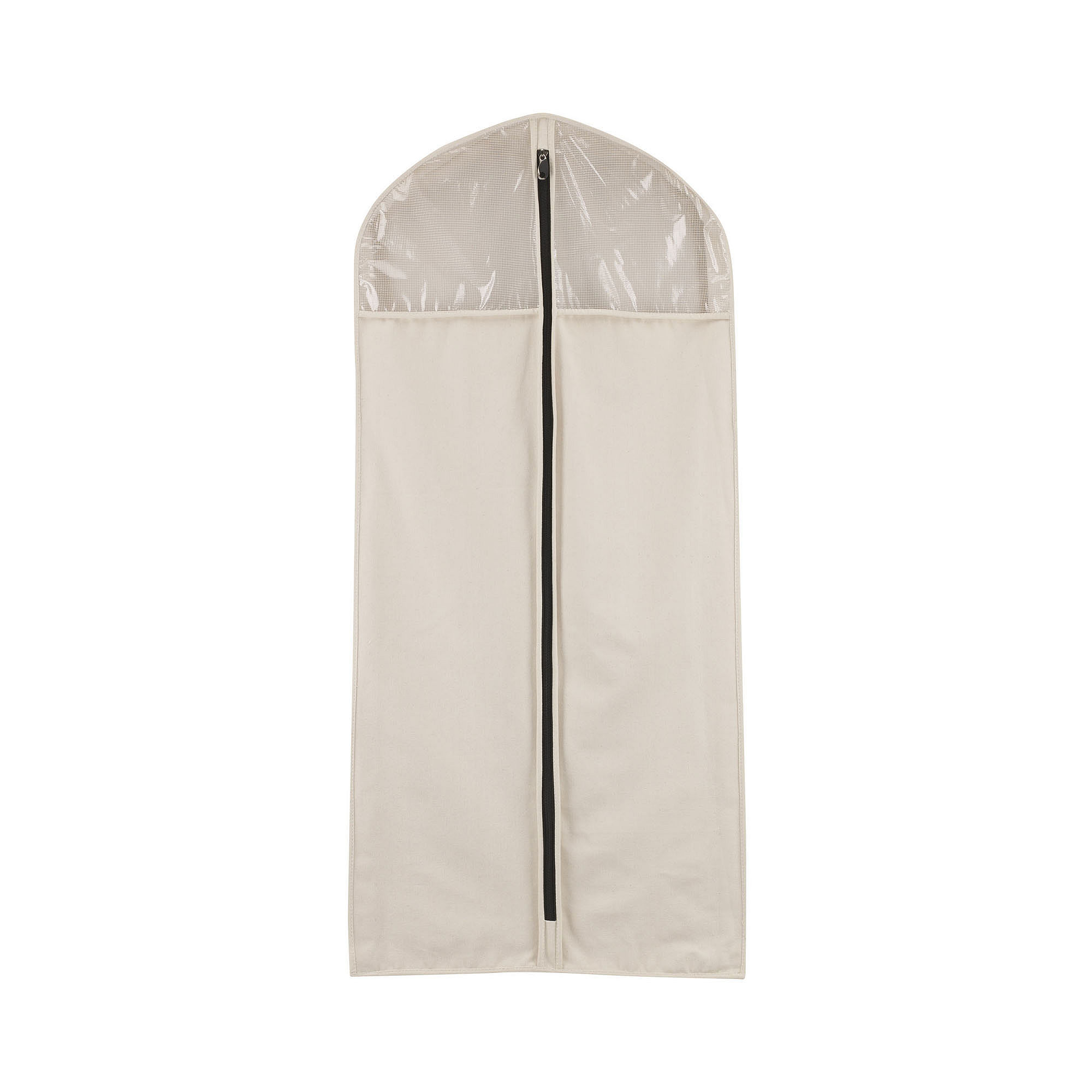 Household Essentials Zippered Hanging Canvas Suit/Dress Bag