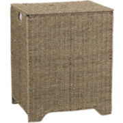 Household Essentials® Seagrass Hamper