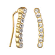 Delicates by PALOMA & ELLIE Cubic Zirconia Climber Earrings