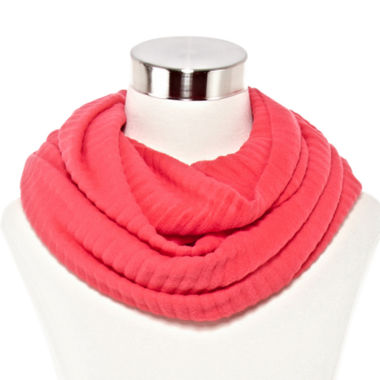 jcpenney.com | Pleated Woven Infinity Scarf