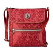 Relic® Erica Flap Logo Crossbody Bag