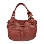 Bueno Pearlized Shoulder Bag