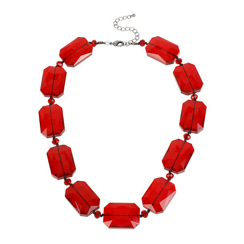 Mixit™ Red Chunky Bead Collar Necklace