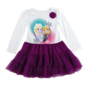 Disney by Okie Dokie® Frozen Tutu Dress - Preschool Girls 4-6x