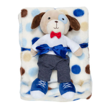 jcpenney.com | Cutie Pie Dog and Blanket Set