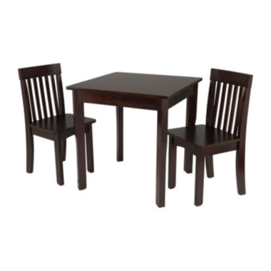 jcpenney.com | KidKraft® Avalon Square Table and 2 Chairs Set - Espresso