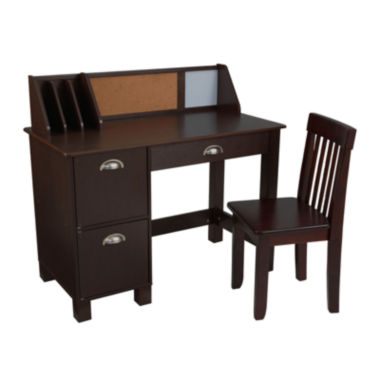 jcpenney.com | KidKraft® Study Desk with Drawers - Espresso