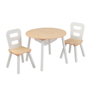 jcpenney.com | KidKraft® Storage Table and 2 Chairs Set - White and Natural