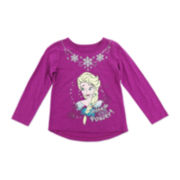 Disney by Okie Dokie® Frozen Tee - Preschool Girls 4-6x