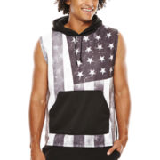 Eighty Eight Sleeveless Fleece Hoodie