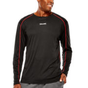 Spalding® Turbo Long-Sleeve Crewneck Tee