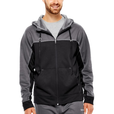jcpenney.com | Spalding® Zone Performance Fleece Full-Zip Hoodie