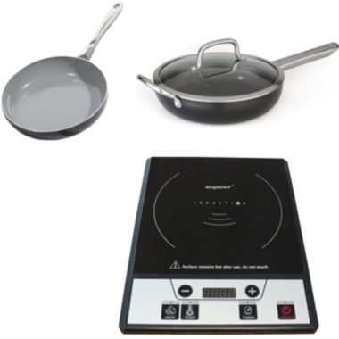 jcpenney.com | BergHOFF® 3-pc. Induction Stove and Cookware Set