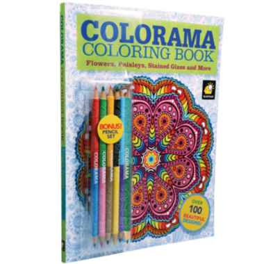 jcpenney.com | As Seen On TV Colorama Coloring Book™ + BONUS Pencil Set