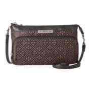 Relic® Logo Double Zip Mini Crossbody Bag