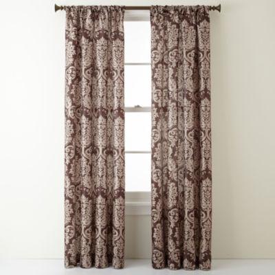 Royal VelvetR Camden Rod Pocket Curtain Panel