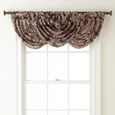 Royal Velvet® Camden Rod-Pocket Waterfall Valance