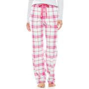Sleep Chic Flannel Sleep Pants - Petite