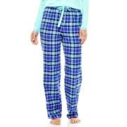 Sleep Chic Flannel Sleep Pants - Tall