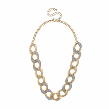 jcpenney.com | Bold Elements Womens Link Necklace